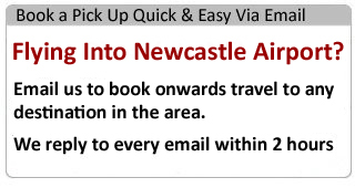 Airport Express Airport Taxis From Durham To Newcastle Or Teesside